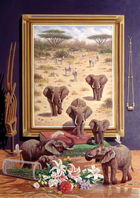 """Elephants Off the Wall"" by Bo Newell"