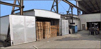 Heat Treated Wood Pallets