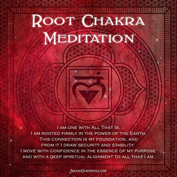 Are you ready to begin healing and aligning your chakras? Join us as we meditate our way to peaceful balance. The Root Chakra helps us to feel grounded and stable and this meditation mantra is meant to help work through emotional issues with financial independence, food and sustenance and feeling one with the Earth.