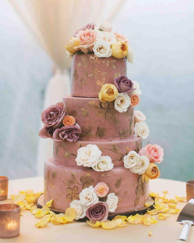 62 Fresh Floral Wedding Cakes | Martha Stewart Weddings