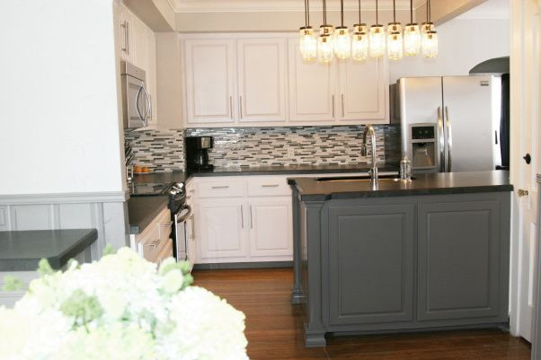 White grey traditional 1940s kitchen making it feel like for Hope kitchen bridgeport ct