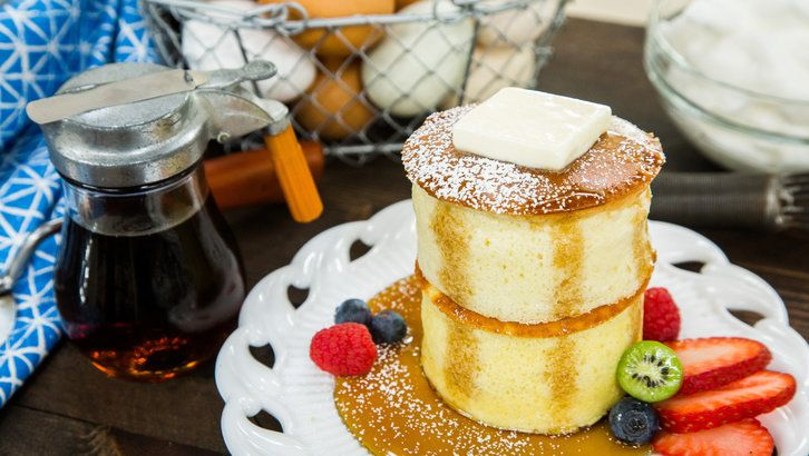 Recipes - Fluffy Japanese Pancakes | Hallmark Channel