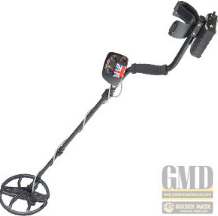 "Golden Mask 1+ Metal Detector UK edition 15khz with 10.5"" Search Coil"