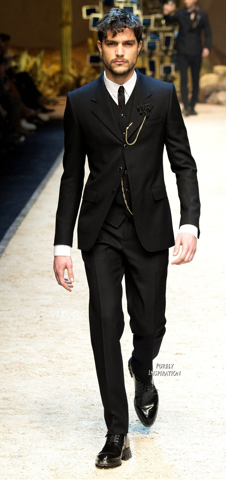 Dolce & Gabbana FW2016 Menswear Fashion | Purely Inspiration