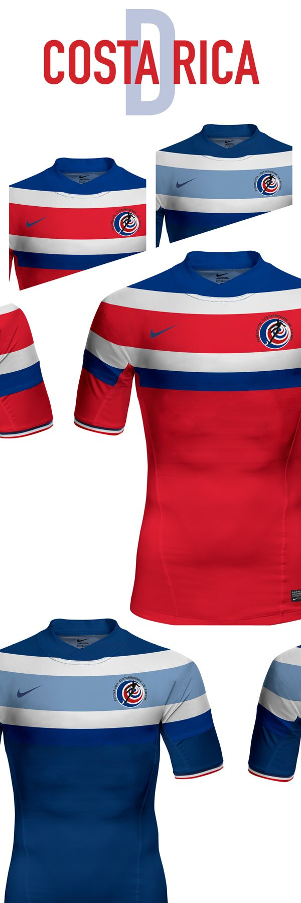Costa Rica. World Cup. Group D. Concepts on Behance