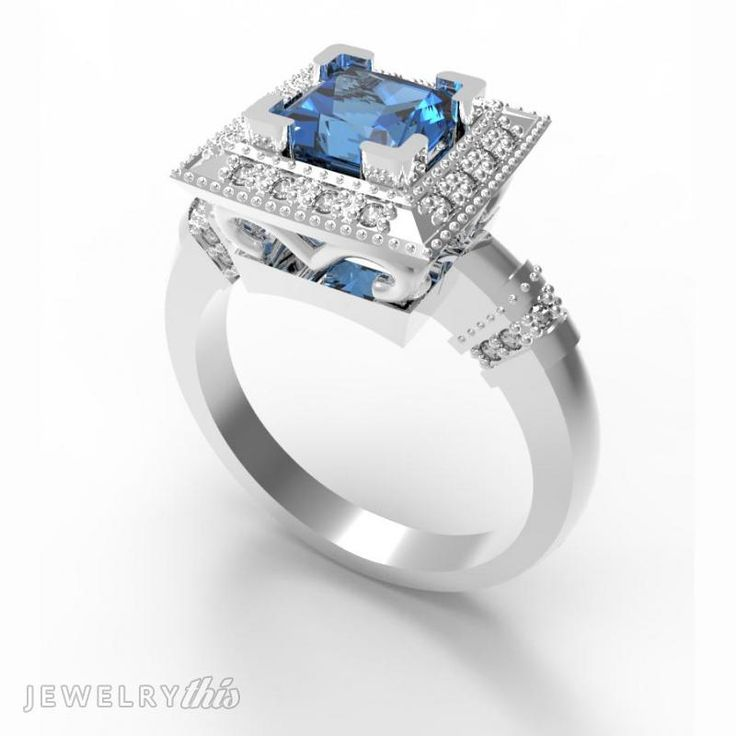 models jewelry earth engagement printed print model stl rings wedding printable diamond brilliant