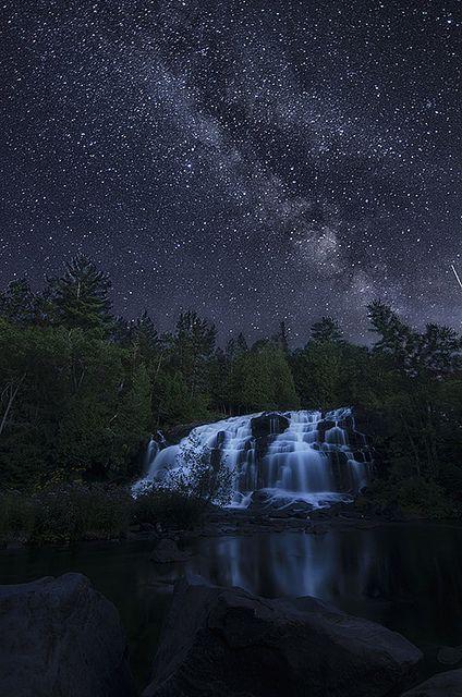 Bond Falls, near Watersmeet, Upper Peninsula of Michigan