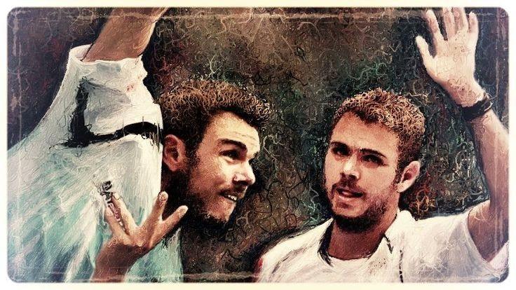 #Stan Wawrinka #テニス #イラスト スタン・ワウリンカ(Stan Wawrinka、スイス)このテニス選手は、錦織圭選手の次に好きな選手です、準々決勝で僕の好きな選手との戦いでどちらを応援していいのか分からず見ていました、その選手をお絵描きしました。  Bette Midler - In My Life http://youtu.be/JeuxV_PzR_s