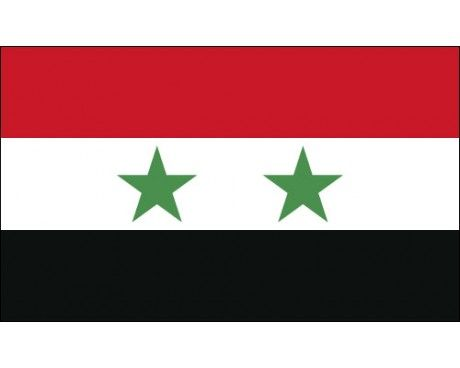 Syria Flag - pray for Syrian civilians suffering after chemical attack