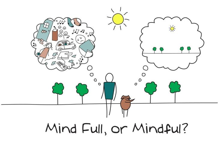 It's so much better to be mindful than mind full. Simplify.