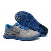 Nike Free 4.0 V2 Herren Schuhe grau königs blau