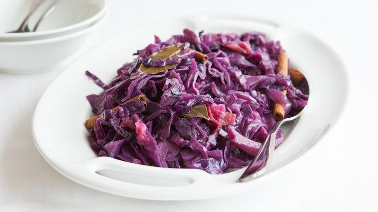 Braised Bavarian Red Cabbage