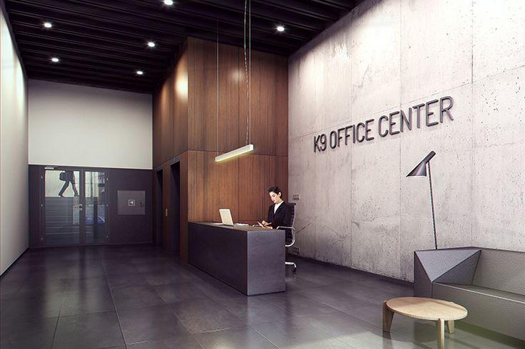 entrance hall k9 office centre - Poznań - malinowski studio