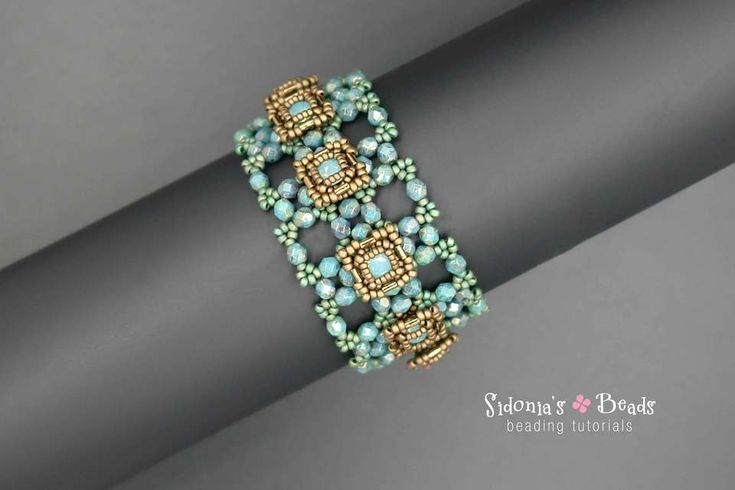 Right angle weave ia a great beading technique! You can make gorgeous jewelry, just like this bracelet. :) DOWNLOADABLE PRODUCT
