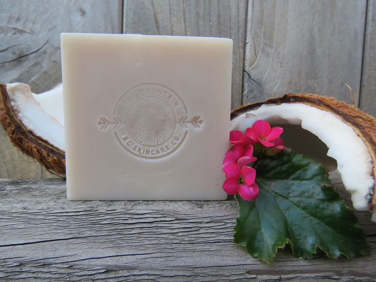 """""""COCONUT"""" & VANILLA ~ BC Wild Glacial Clay Organic soap ~ Made by: THE MOUNTAIN: BC SKINCARE CO. for $15.00 CAD bcmnt.skincareco@gmail.com"""