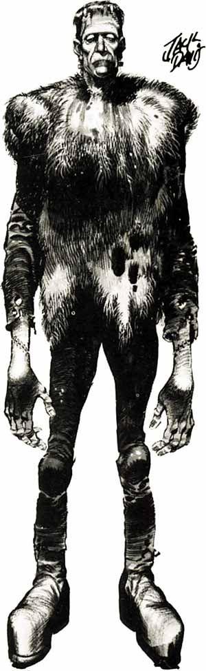 Frankenstein - Jack Davis - I grew up w/ JD's work in Mad Magazine.