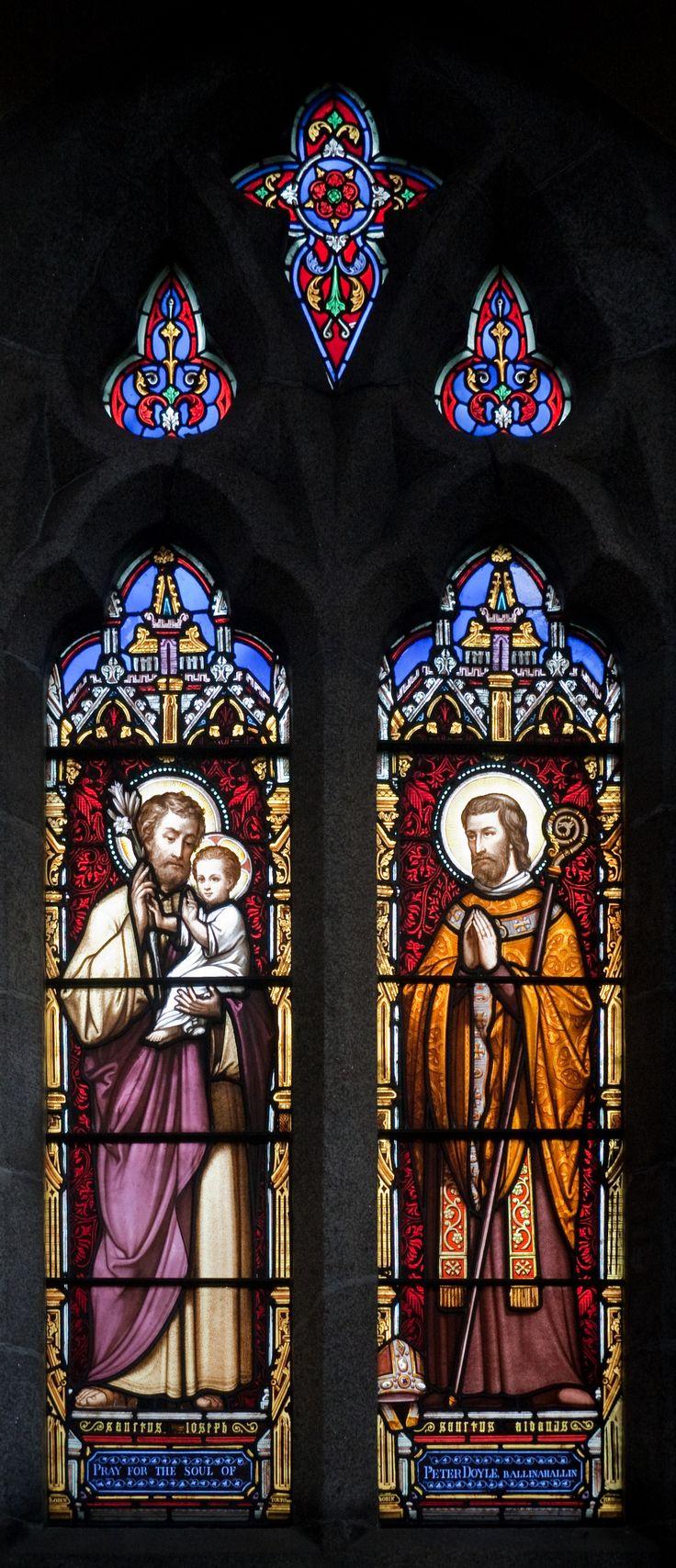 St. Joseph & St. Aidan (St. Aidan's Cathedral, Enniscorthy, County Wexford, Ireland)