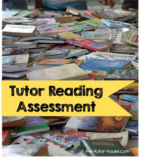 Tutor Reading Assessments.  Lots of great free options available plus some free reading records!