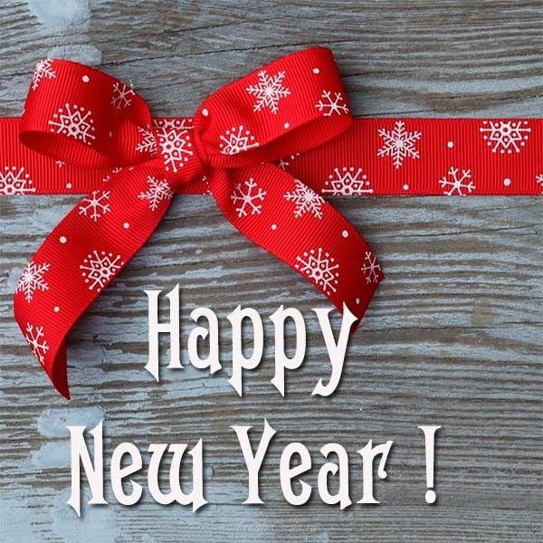 Открытка новый год на английском