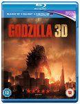 Godzilla 3D / 2D / UV Blu Ray 4.95 (Amazon Prime) 6.21 (non-prime)