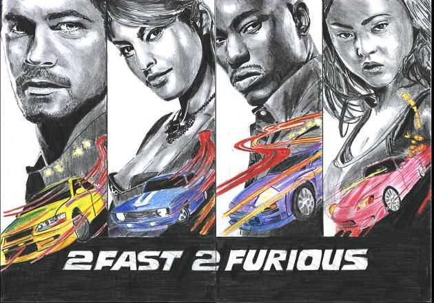 Fast And Furious by 100PourCentDessins.deviantart.com on @deviantART