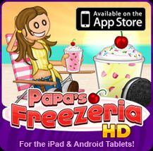 Papa's Cupcakeria | Free Flash Game | Flipline Studios