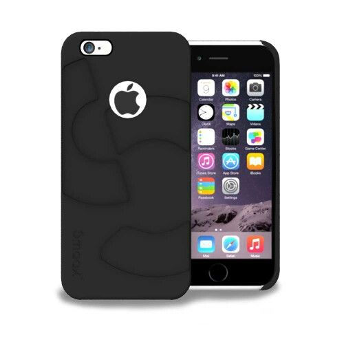 Smaak™ Sleek Ultra Thin PC Case  for iPhone 6 - Midnight Black. For more info visit http://ismaak.com