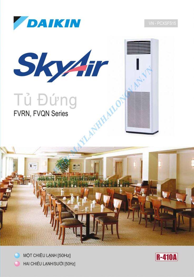 Máy lạnh tủ đứng Daikin FVRN100AXV1/RR100DGXY1 Gas R410a - 4.0HP - 4.0 Ngựa chính hãng giá rẻ nhất - LH 0909 787 022
