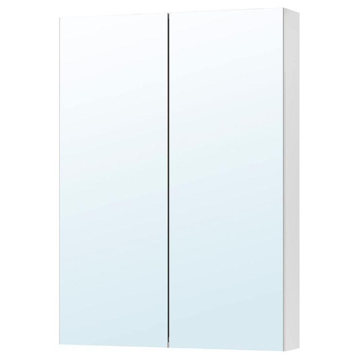 Godmorgon Mirror Cabinet With 2 Doors 31 1 2x5 1 2x37 3 4 Mirror Cabinets Ikea Godmorgon Amazing Bathrooms