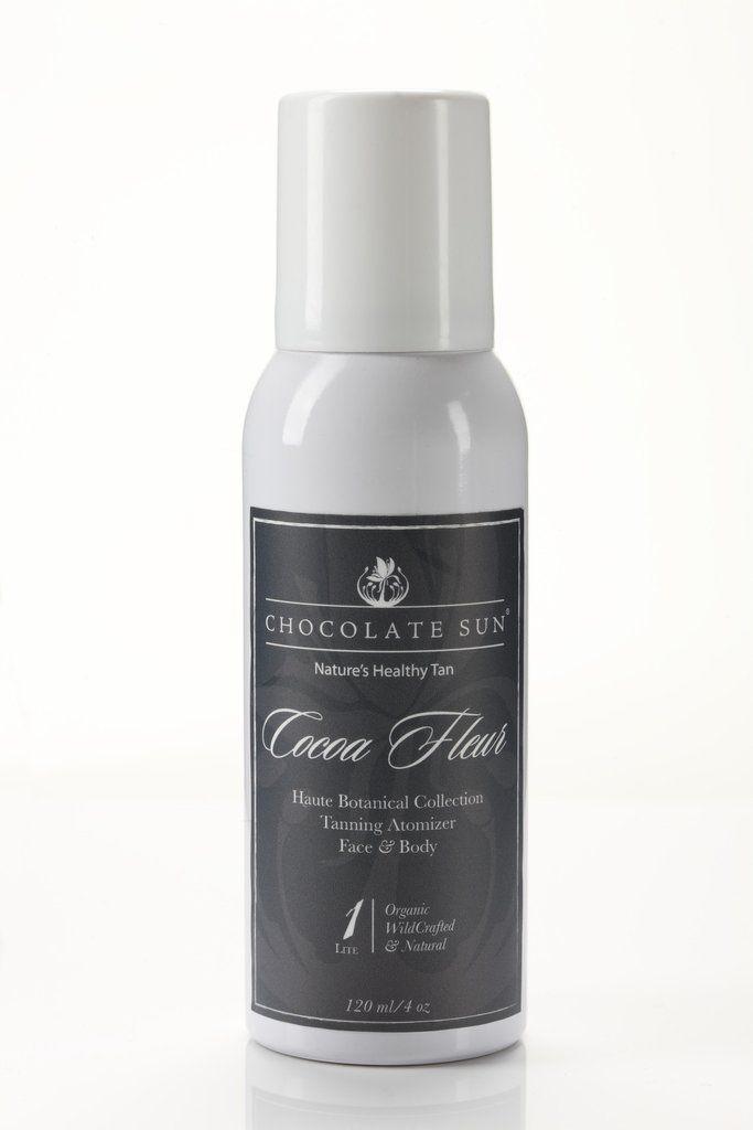 Chocolate Sun Organic Self Tanning Spray - Cocoa Fleur Atomizer