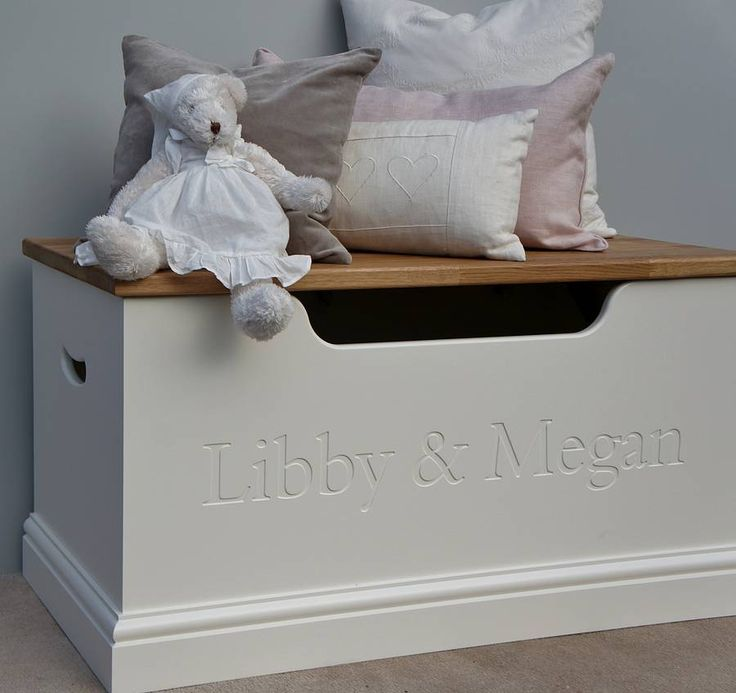 girls toy box or storage chest by chatsworth cabinets | notonthehighstreet.com