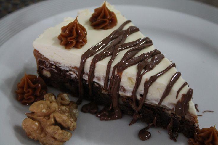 Já experimentou um Brownie em torta??