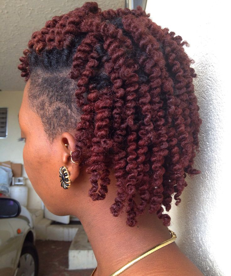Undercut Hairstyle On Natural Hair