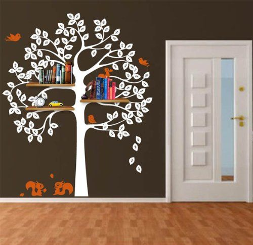 Best M Room Images On Pinterest Letter Tree Wall Decals And - Bambi love tree wall decals