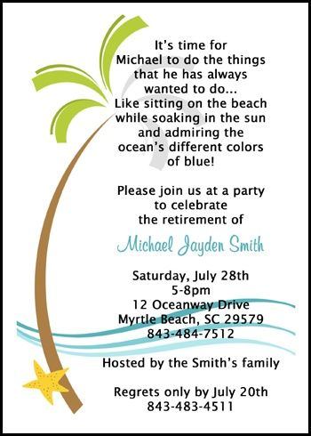 17 best Birthday Invitations for Adults images on Pinterest - family gathering invitation wording