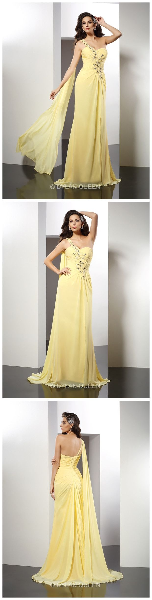 #lovely #yellow long dress, natural fairy style, would you like to dress it? @dylanqueen is waiting for u !