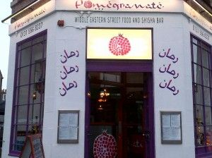 Pomegranate is new and worth a visit