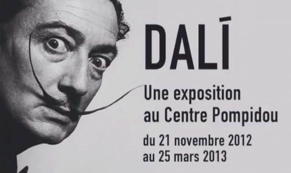 #Dalí en el museo #Pompidou de París... ¿Un genio o un impostor?