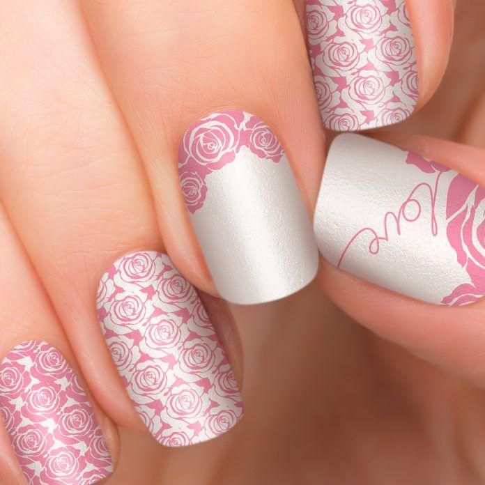 49 best Romantic Nail Designs images on Pinterest | Nail art ideas ...