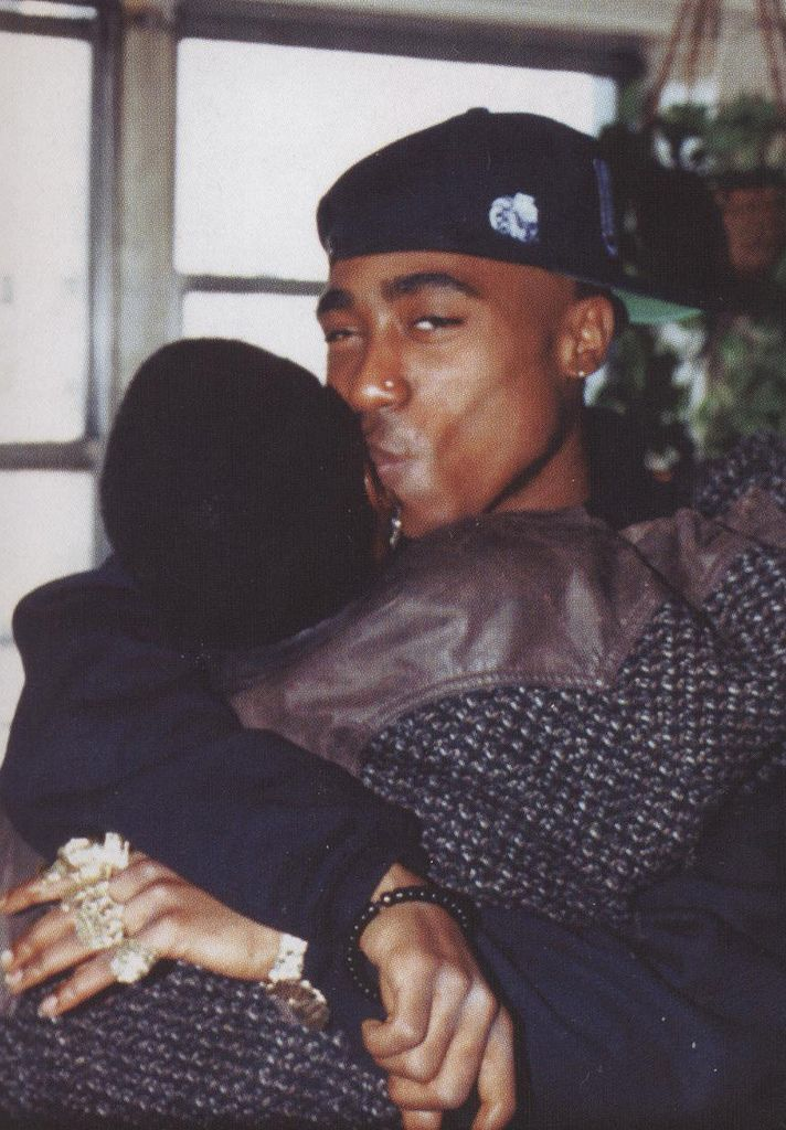 Afeni Shakur & Tupac Shakur