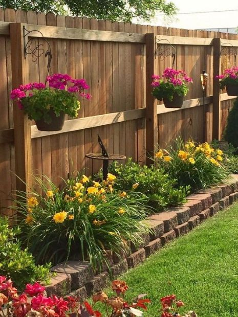 25 Best Simple Fence Ideas Front yard landscaping diy