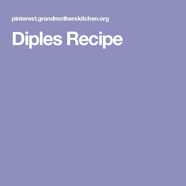 Diples Recipe