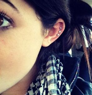 Took this idea to my local parlour to get the same piercing. Love It! Simple but still a little different.