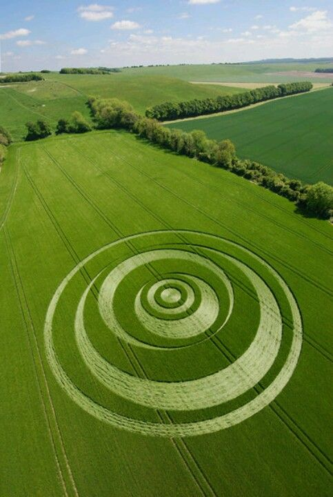Crop Circles: The Work of Fallen Angels . Don`t be deceived: they are the work of demonic spirits.                                                                                                                                                      More