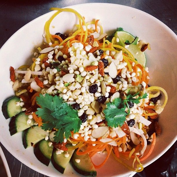 Have you tried our Tangled Thai salad yet?