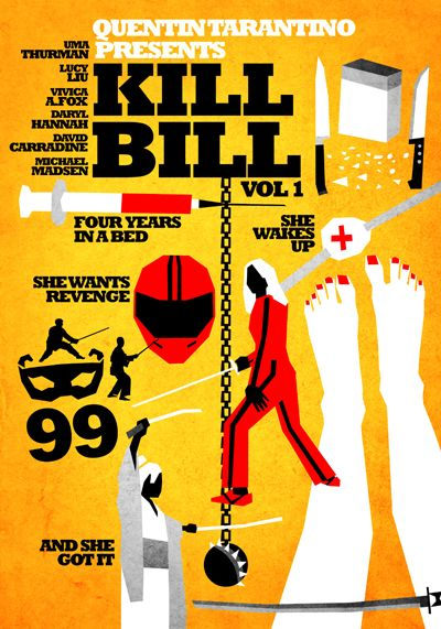 Kill Bill Volumes 1 and 2 — Disturbing, but I loved it, and the soundtrack too.