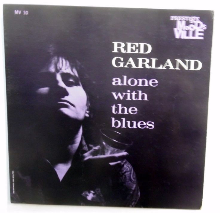 RED GARLAND LP Alone With The Blues VG++ Hard Bop RVG 1st Press DG Jazz jg138
