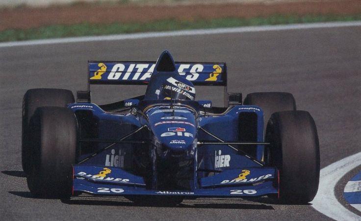 Olivier Panis - 1995 - Ligier Gitanes Blondes - Montemelo