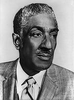 Ralph Metcalfe (May 30, 1910 – October 10, 1978) was a co-founder of the Congressional Black Caucus as a representative from the Illinois 1st District. He was a college track star and Olympic athlete, placing second to Jesse Owens in the 100 meters in 1936. He served in World War II and coached at Xavier University in Louisiana before becoming a Chicago businessman, and was a member of Alpha Phi Alpha fraternity. #TodayInBlackHistory