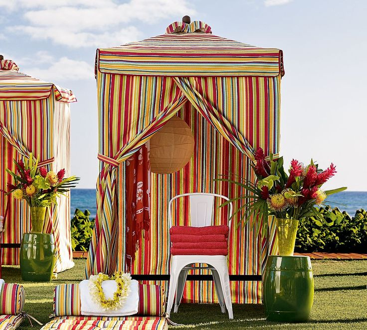 Steal Of The Day Pottery Barn Chesapeake Changing Cabana